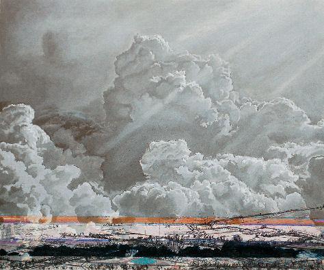 acrylique sur bois, oeuvres, works, arbeiten, art