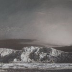 """""""Carrière"""", 2013, Acryl auf Holz , 60 x 72 cm"""