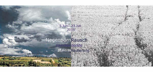 Einladungskarte vorn für Negenborn 2