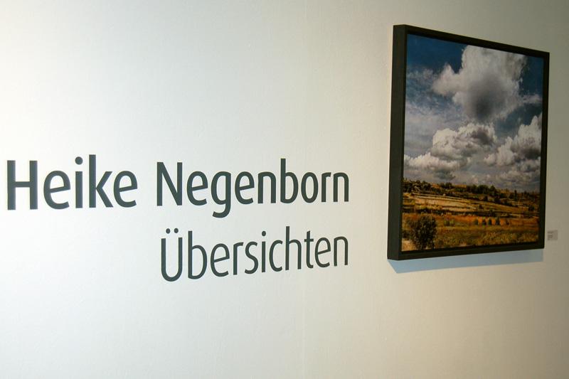 Kunststation Kleinsassen_Ausstellung Übersichten, Eingang