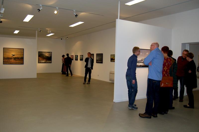 Kunststation Kleinsassen_Ausstellung Übersichten, Halle 1 Eingang