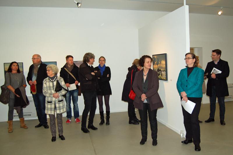 Kunststation Kleinsassen_Ausstellung Übersichten, Halle 1, Eröffnung
