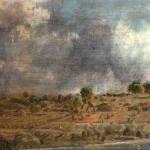 """""""Avant l'orage"""" , 2005, acrylique et huile sur bois, 70x80 cm, peinture, gemälde, painting, malerei, paintings"""