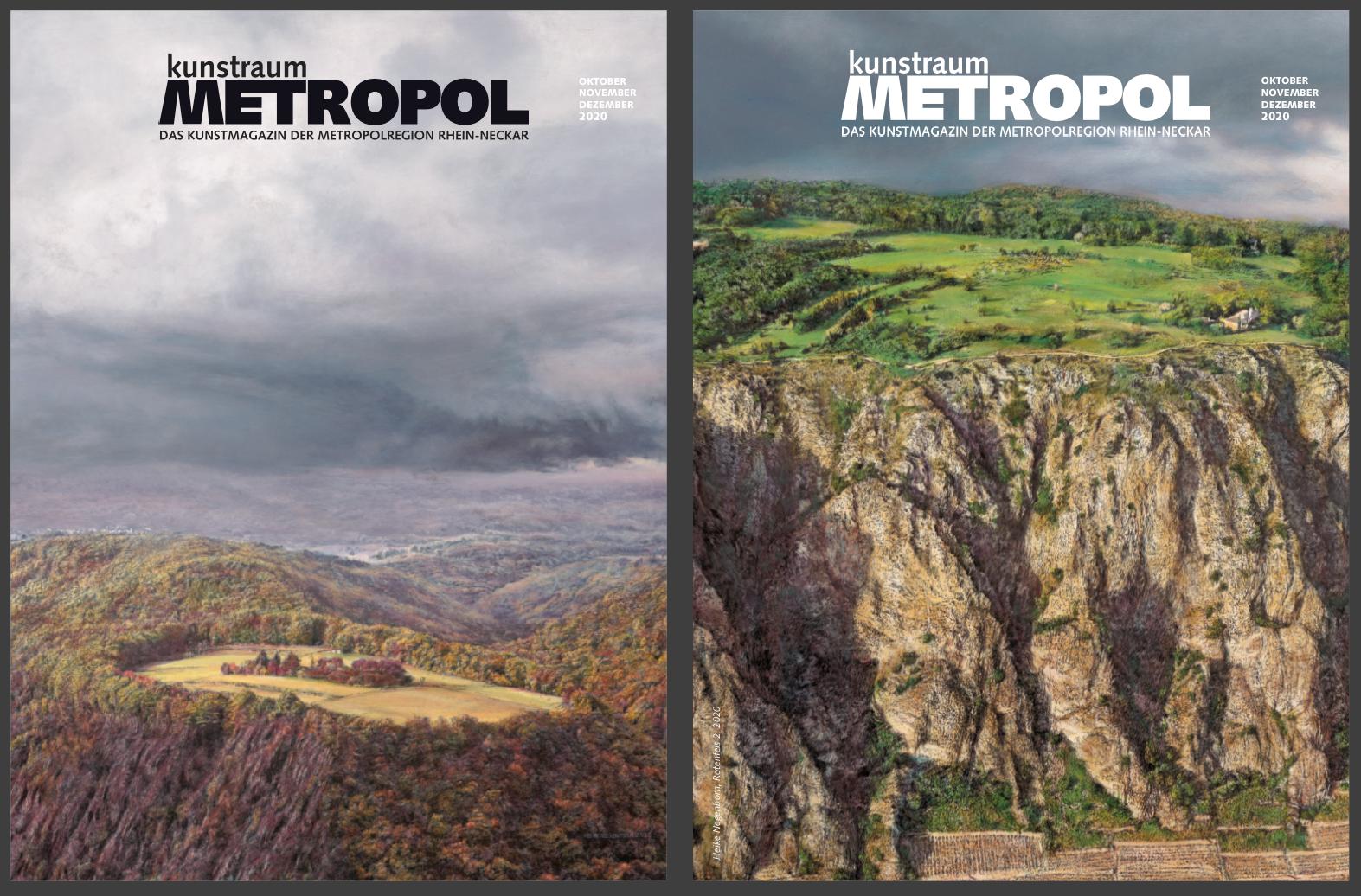 kunstraumMETROPOL – Das Kunstmagazin der Metropolregion Rhein-Neckar, Ausgabe Q4/2020, cover